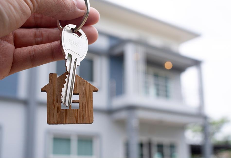 llave de vivienda en alquiler